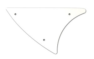PICKGUARD 340/370 UPPER L/H