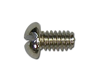 SCREW M/S 3-48 x 3/16 RD SLT